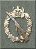 Infantry Combat Badge, Silver