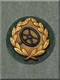 Drivers Badge, Bronze