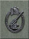 FlaK Gunner Badge, Black
