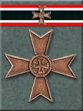 War Merit Cross w. Swords, 2nd class
