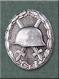 Wound Badge, Silver